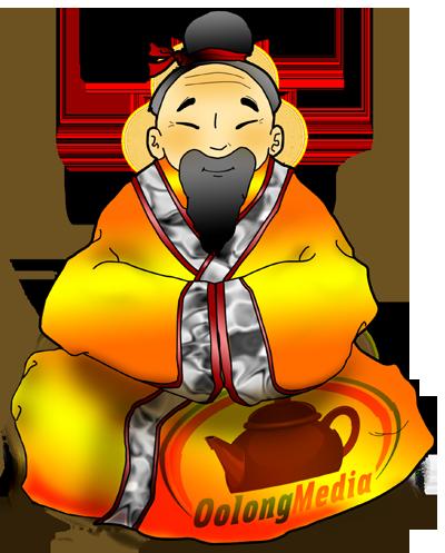 Oolong Media Mascot
