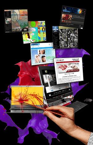Site web pour artiste