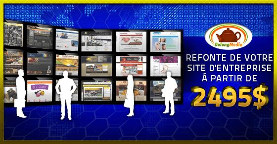 Refonte de site web pour PME du Québec
