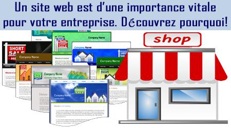 Services de création de site web pour entreprise en démarrage au quebec