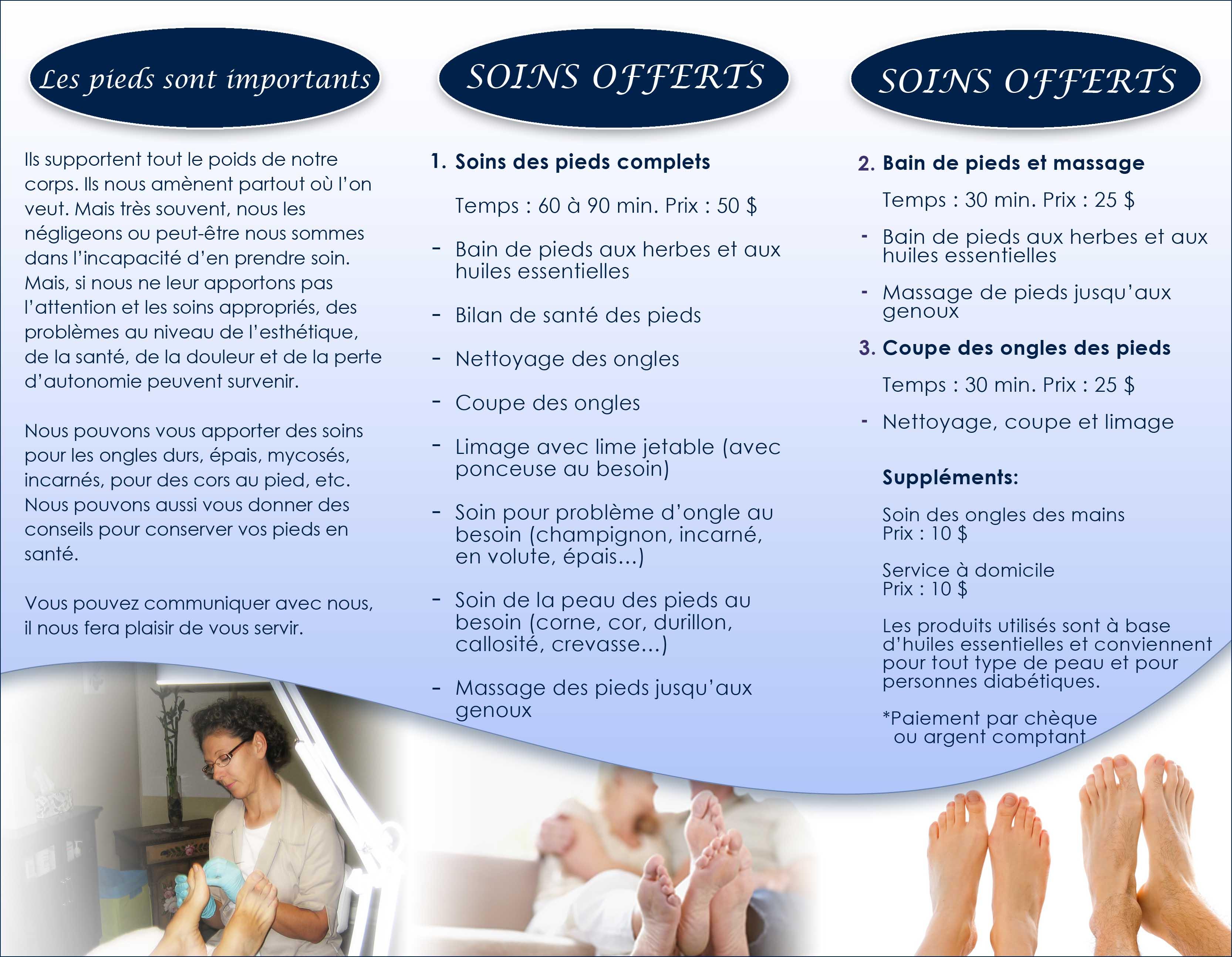Exemple de brochure publicitaire