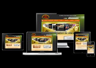 Création de boutique en ligne: Interface et Navigation Ergonomique et Facile d'utilisation pour le Client