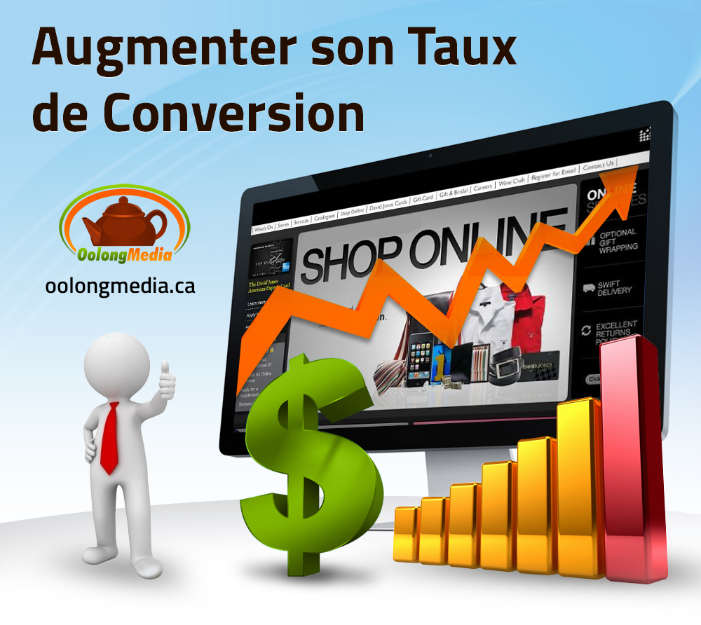Boutique en ligne, Site Web transactionnel et e Commerce – 32 Strategies Web pour augmenter la conversion