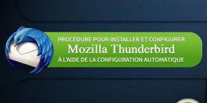 comment configurer un courriel de serveur avec thunderbird