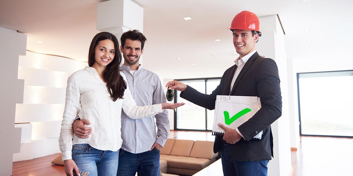 Publicité pour inspecteur en bâtiment