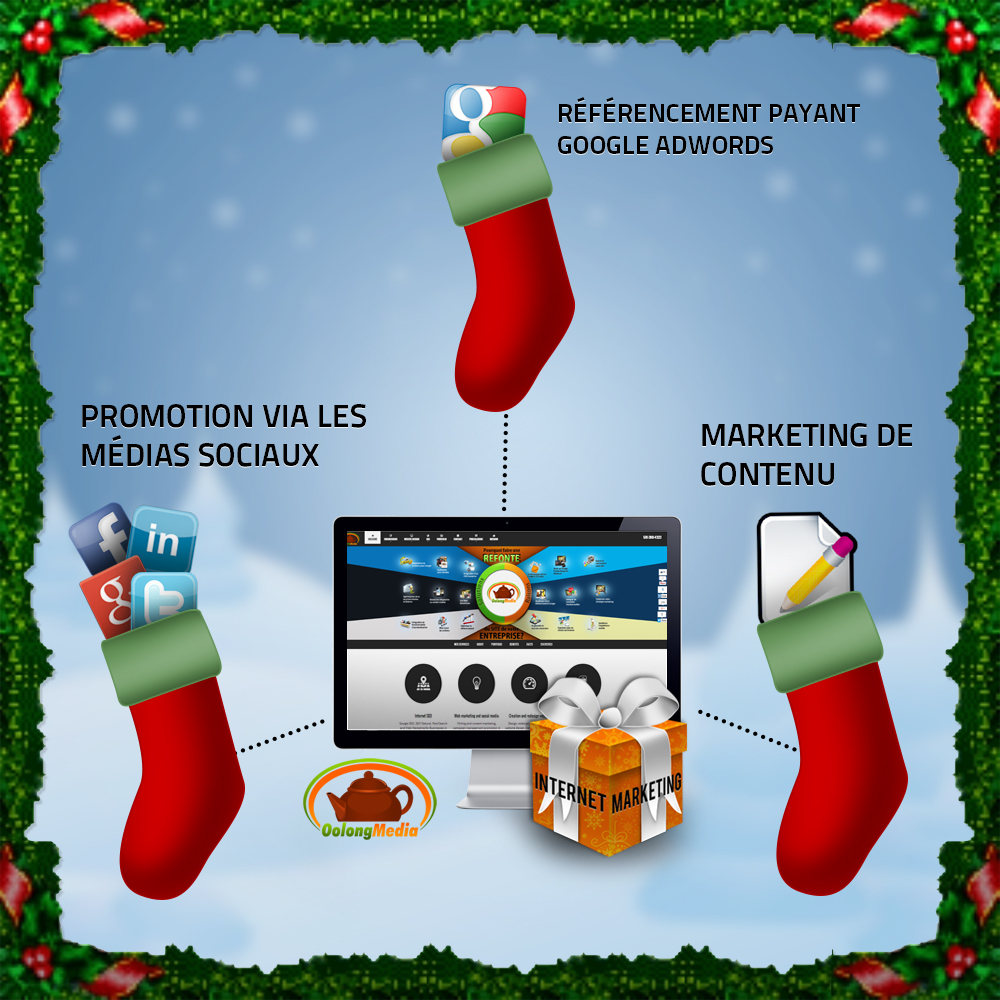 Marketing Web pour Noel