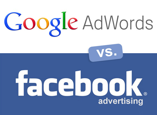 Référencement payant dasn Google Adwords VS Facebook