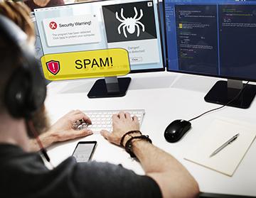 Nettoyage d'ordinateur : virus informatique