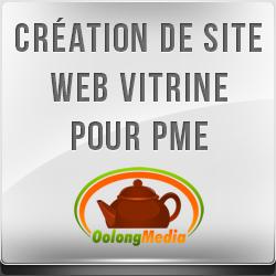 Creation de site web Vitrine pour entreprise du Québec