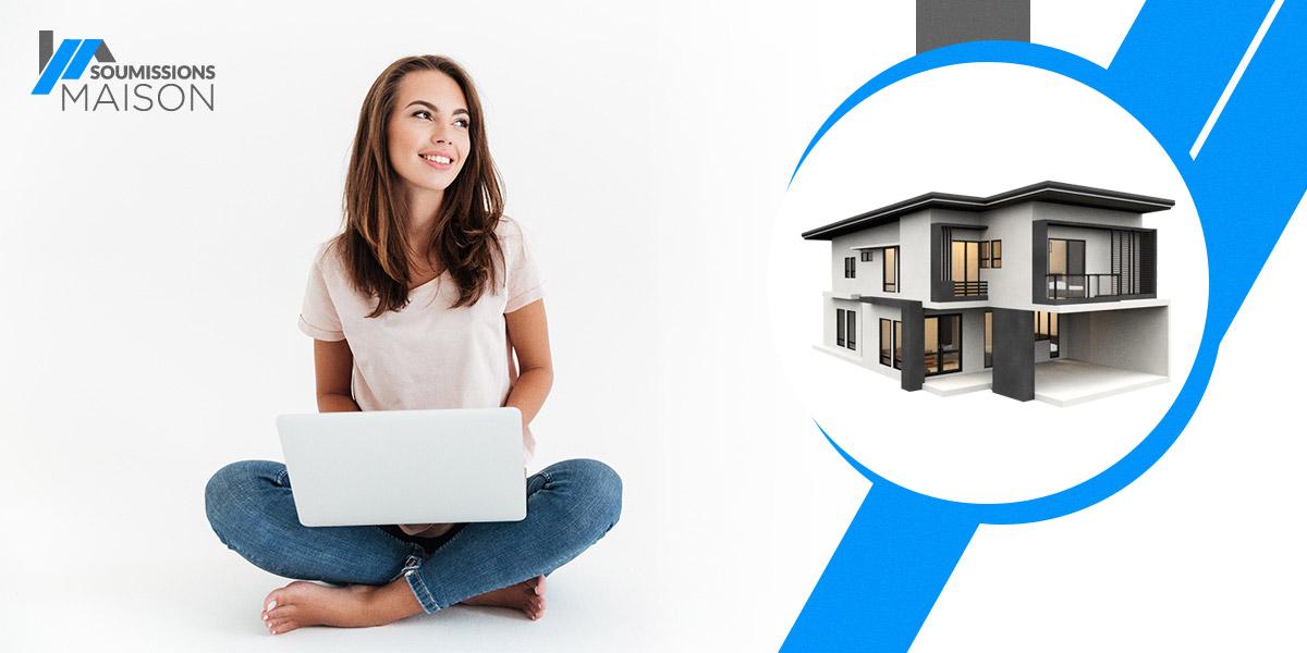 Pour magasiner tout ce qui touche à l'habitation et obtenir de l'aide de professionnels dans tous les domaines, utilisez soumissionsmaison.